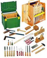 Composition de 30 outils de menuisier ulmia en coffret - Outil de menuisier ...