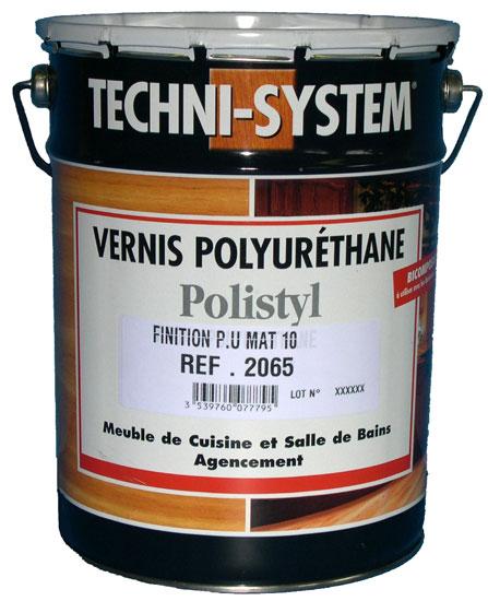 Bidon 5 litres vernis de finition bi couche polyur thane 2062 satin 30 ven - Vernis polyurethane bois ...