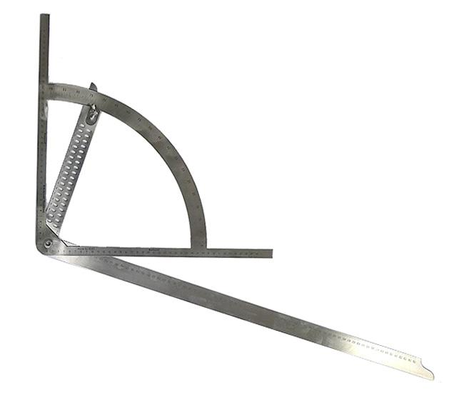 equerre alpha de charpentier longueur 800mm avec rapporteur incorpor vente outillage bois ftfi. Black Bedroom Furniture Sets. Home Design Ideas