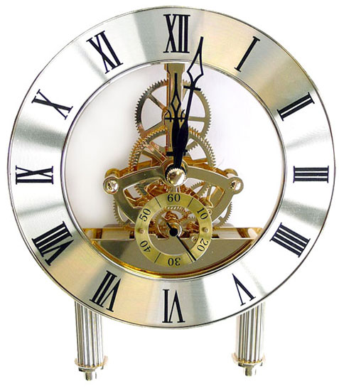 M canisme de pendule quartz cadran diam tre 126mm dor vente outillage bois ftfi - Horloge avec mecanisme apparent ...