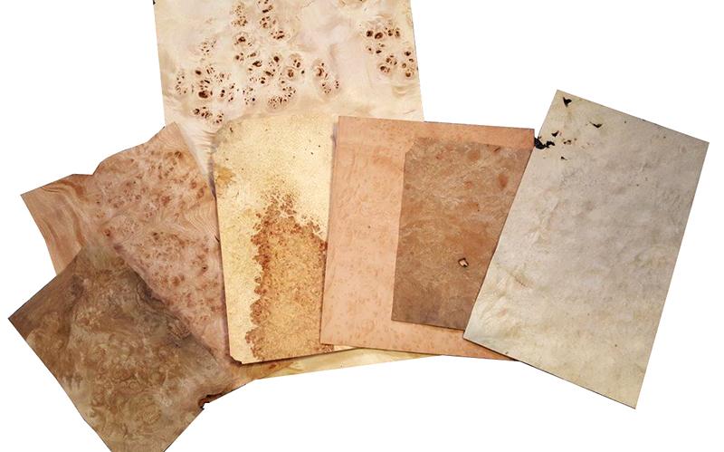 kit 7 feuilles de placage paisseur 6 10 loupes vente. Black Bedroom Furniture Sets. Home Design Ideas