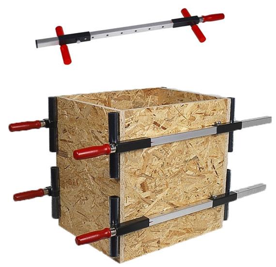 serre joint pour caisson de meuble serrage 1m vente outillage bois ftfi. Black Bedroom Furniture Sets. Home Design Ideas
