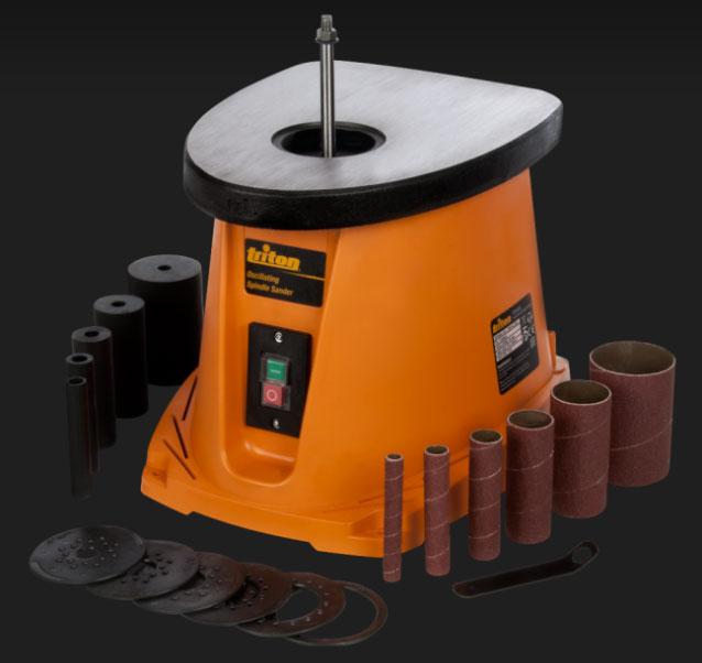 ponceuse cylindre oscillant triton mod le tsps450. Black Bedroom Furniture Sets. Home Design Ideas